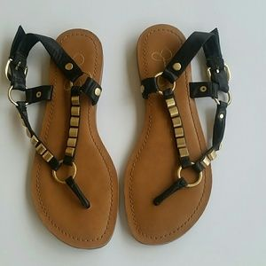 Jessica Simpson Studded Strappy Sandals